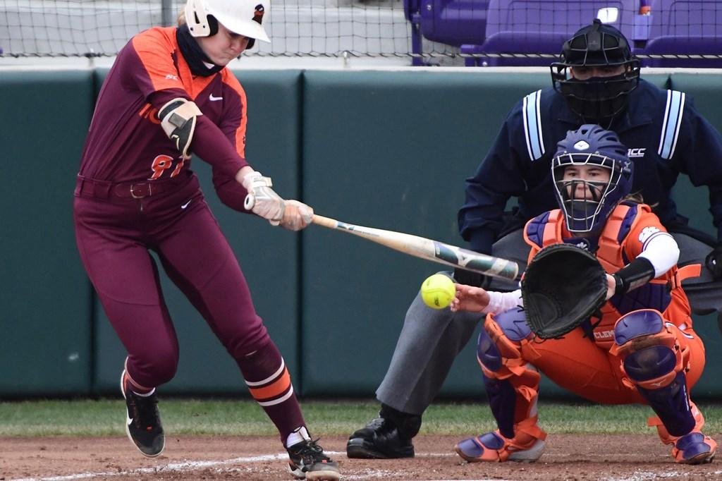 Virginia Tech Softball Cameron Fagan