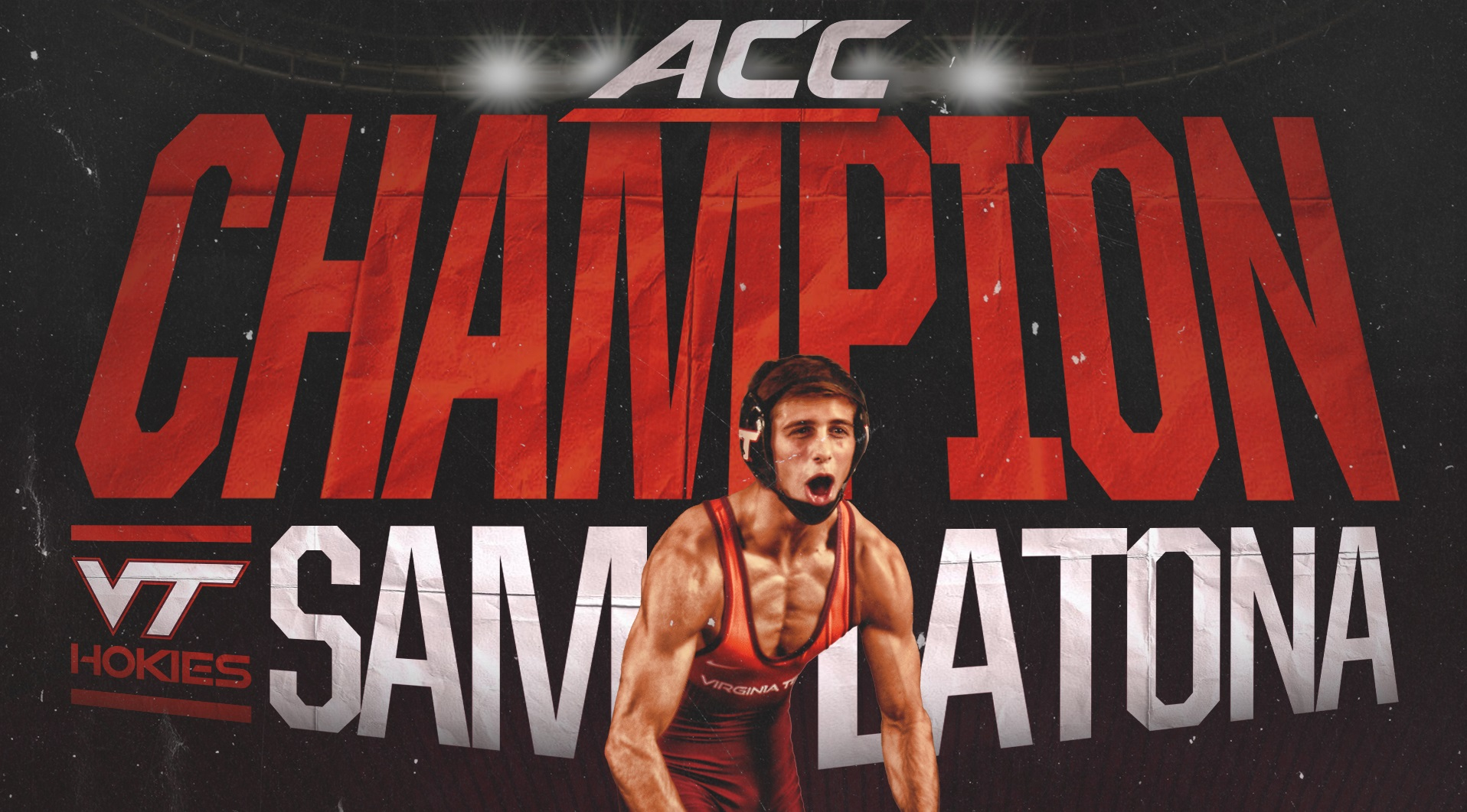 Virginia Tech Wrestling Sam Latona