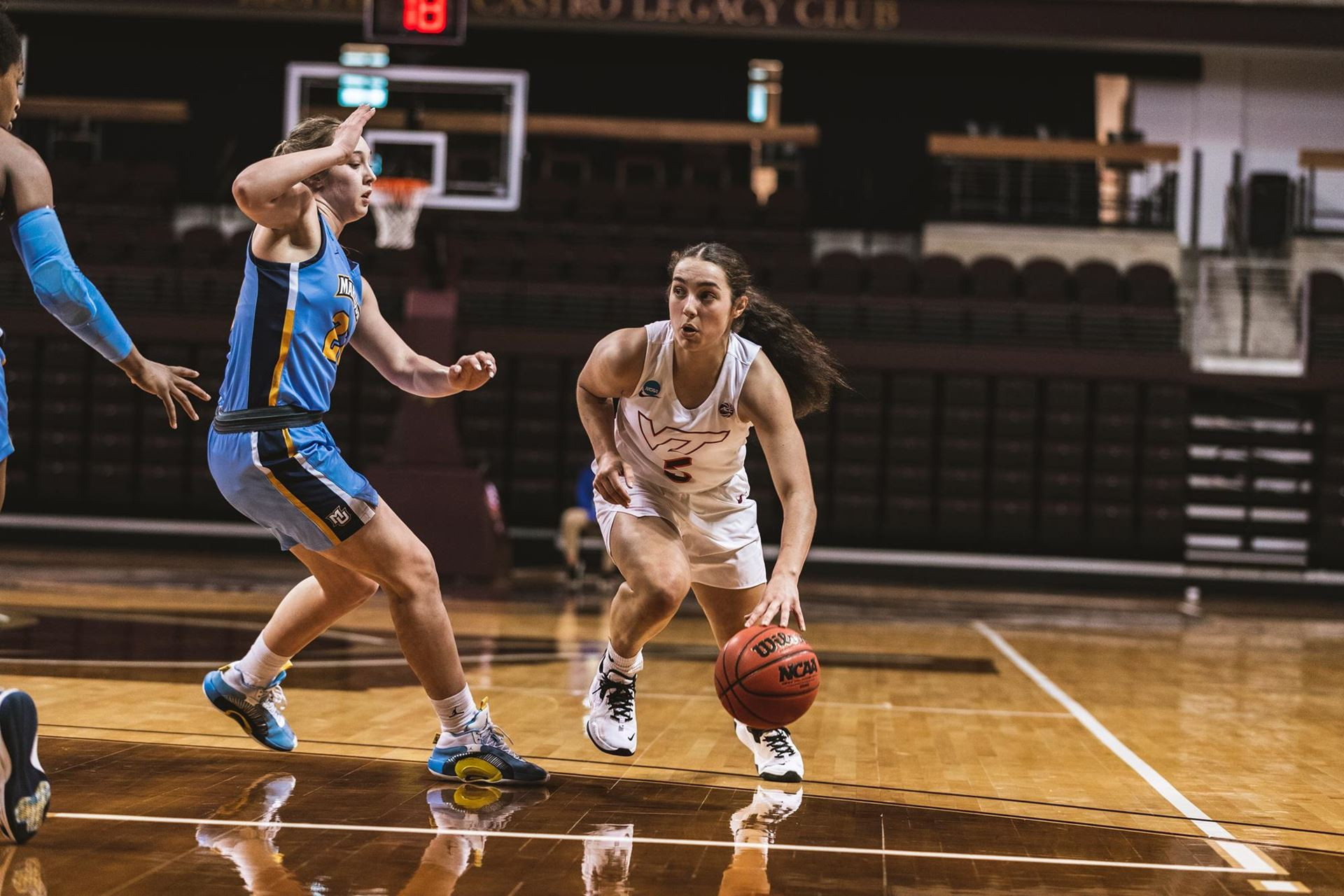 Georgia Amoore Virginia Tech women's basketball
