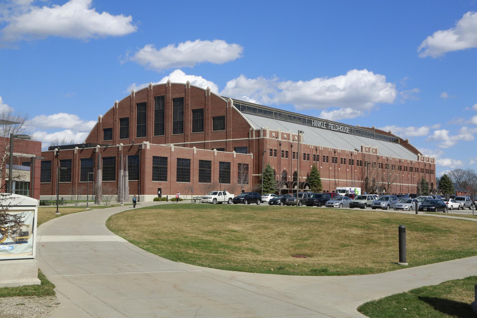 Virginia Tech, Hinkle Fieldhouse
