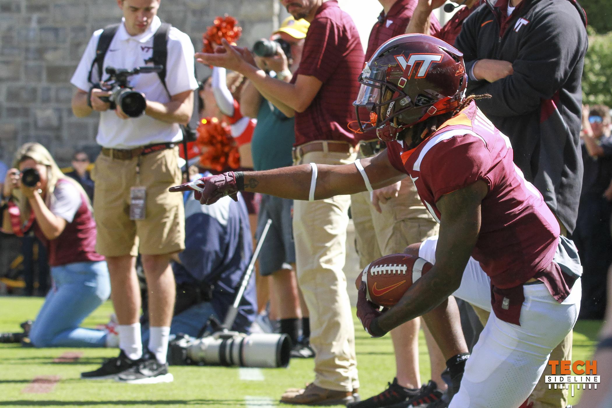 Virginia Tech Tre Turner